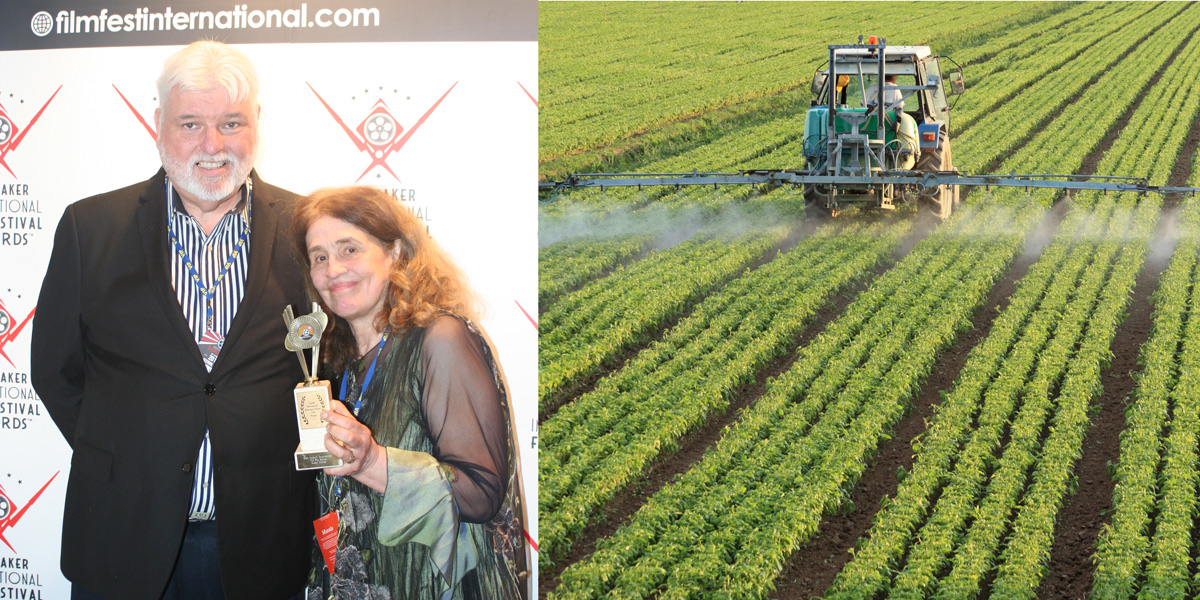 Alex Voss and Susan Downs - pesticide dangers film