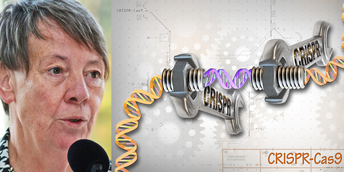 Barbara Hendricks and genome editing CRISPR