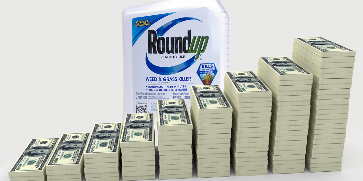 Big Money Stacks and Roundup Glyphosate