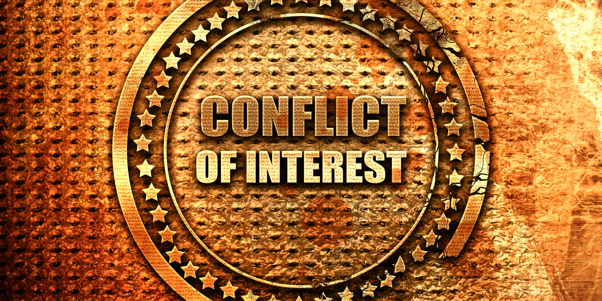 Conflict of interest symbol