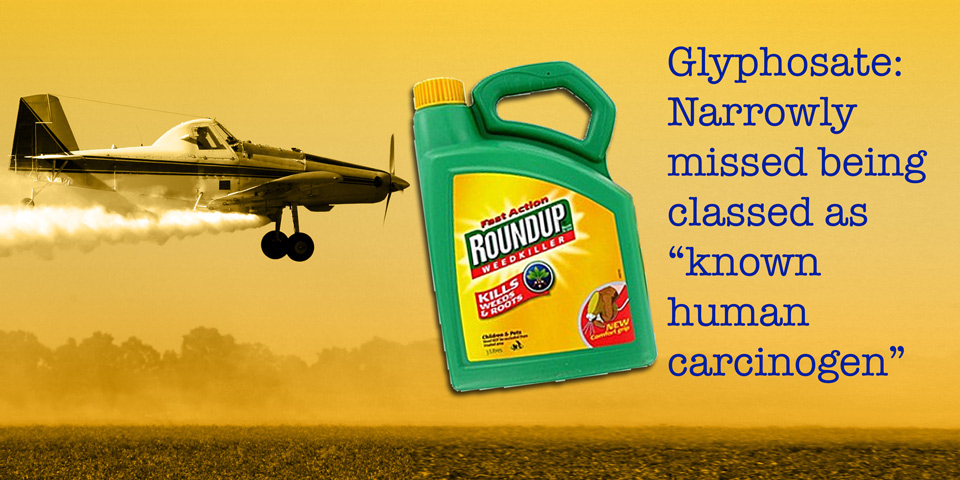 Crop Duster, Glyphosate and quote