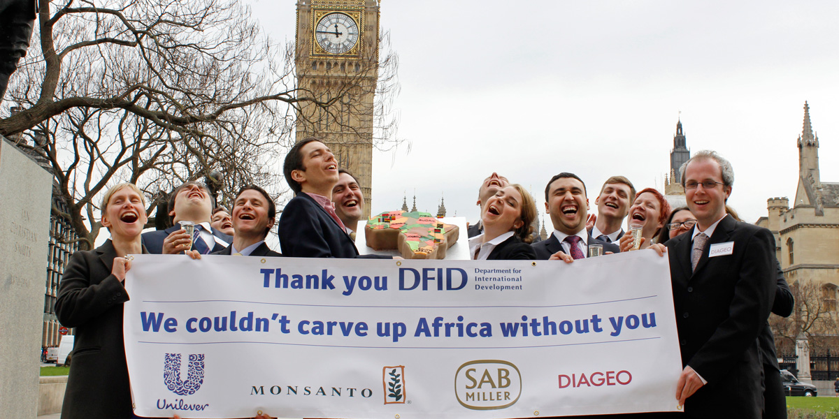 DFID carving up Africa