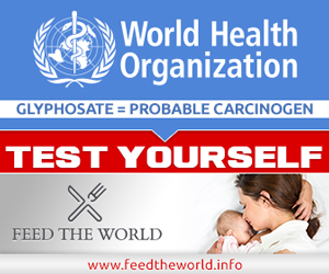 Glyphosate the problematic carcinogen - take the test