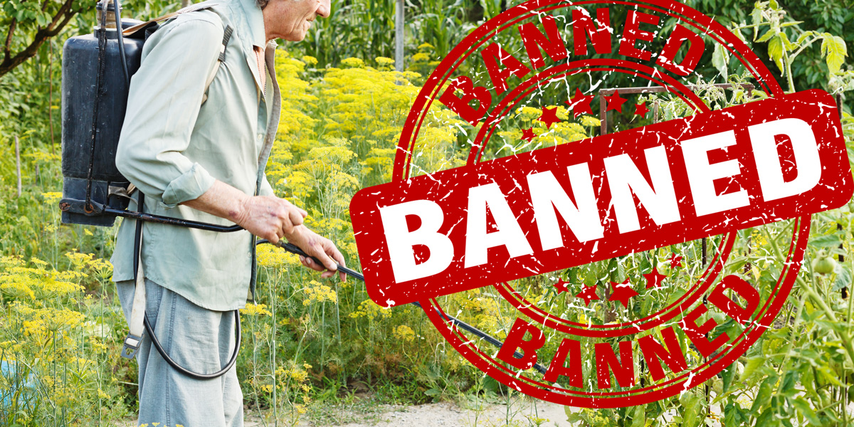 glyphosate herbicide spraying banned