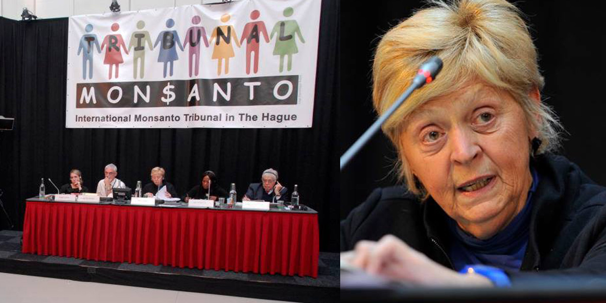 International Monsanto Tribunal in the Hague and Judge Tulkens