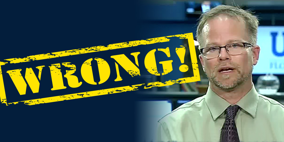 Kevin Folta is wrong over cancer glyphosate link