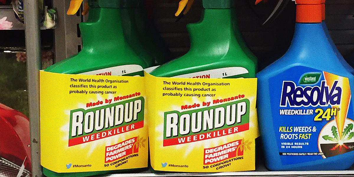 Roundup degrades farmers power so corporations grow