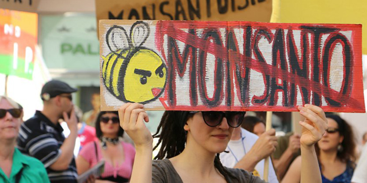 Anti-Monsanto demonstation
