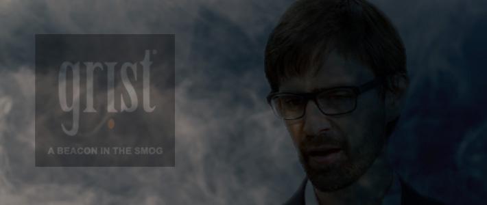 Fog background - Grist logo