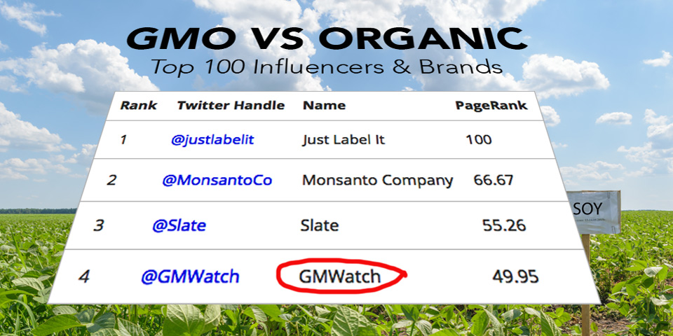 Top 100 influencers - GMWatch number 4