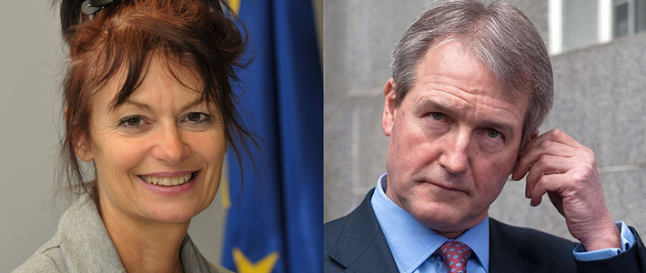 Anne Glover and Owen Paterson