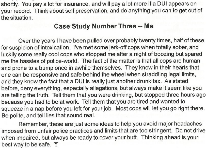 Drunk Driving Case Study 3