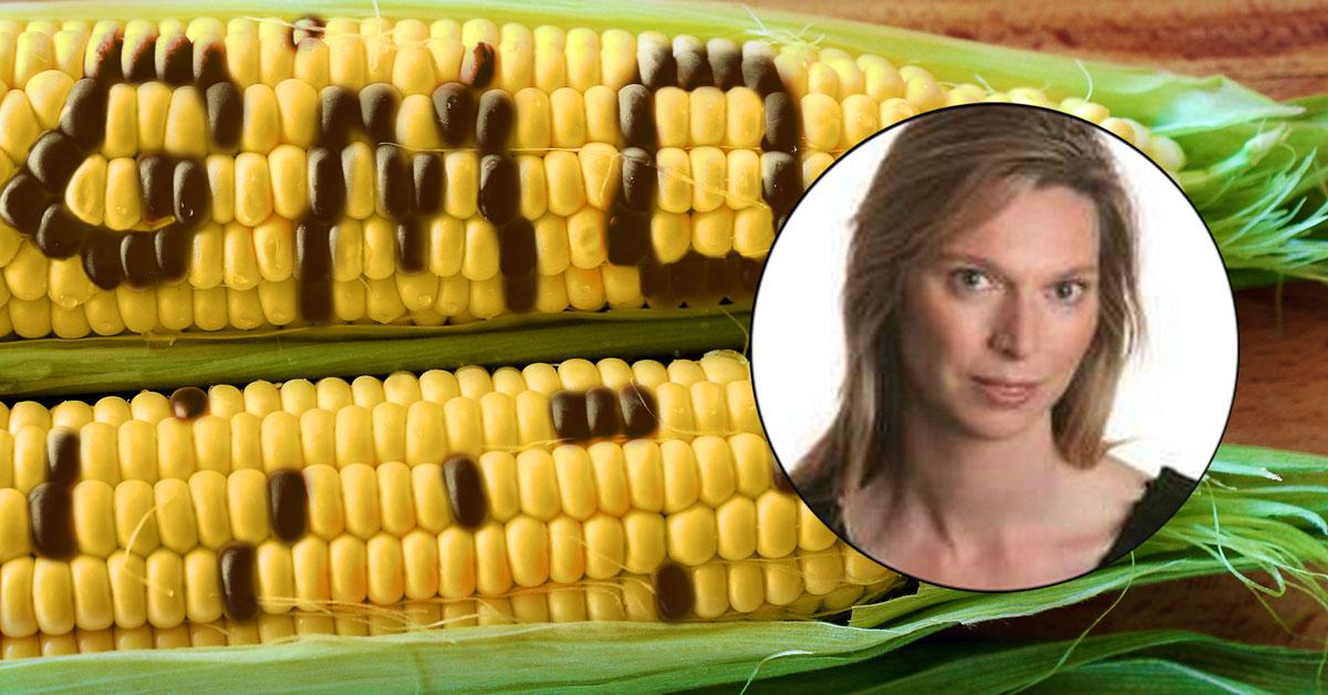 Camilla Cavendish and GMO Corn Cobs