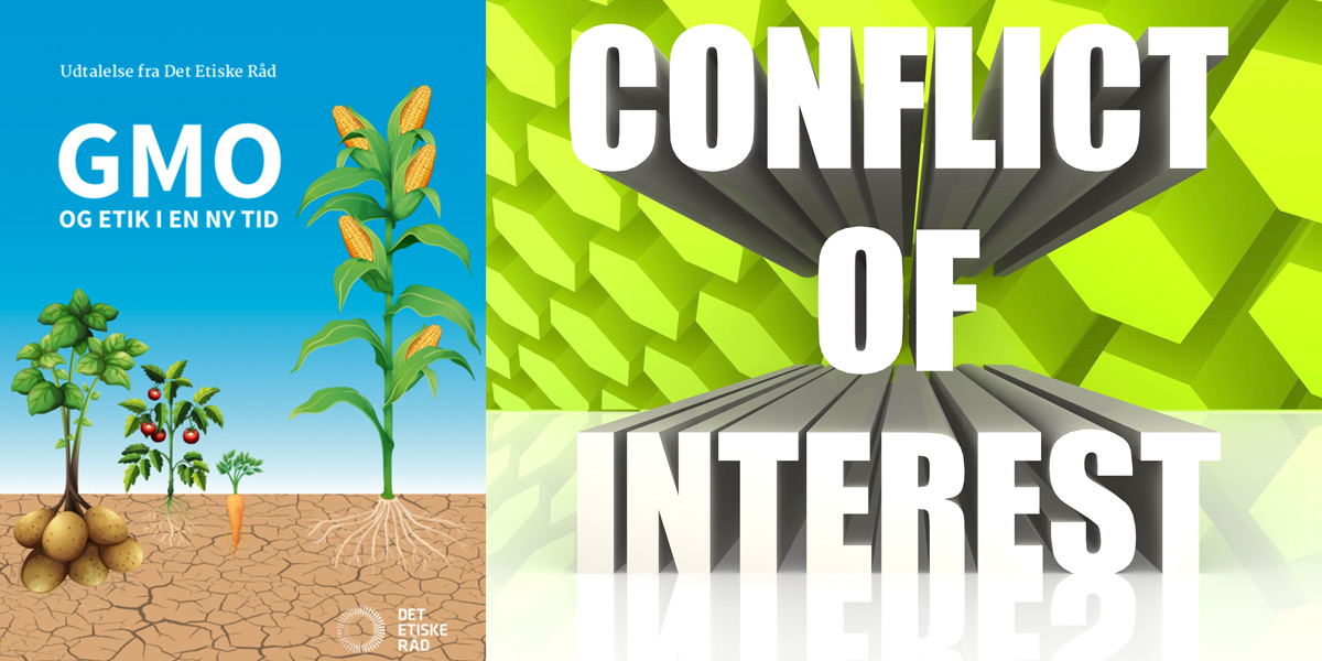 Danish Ethics Report GMO Conflict of Interest