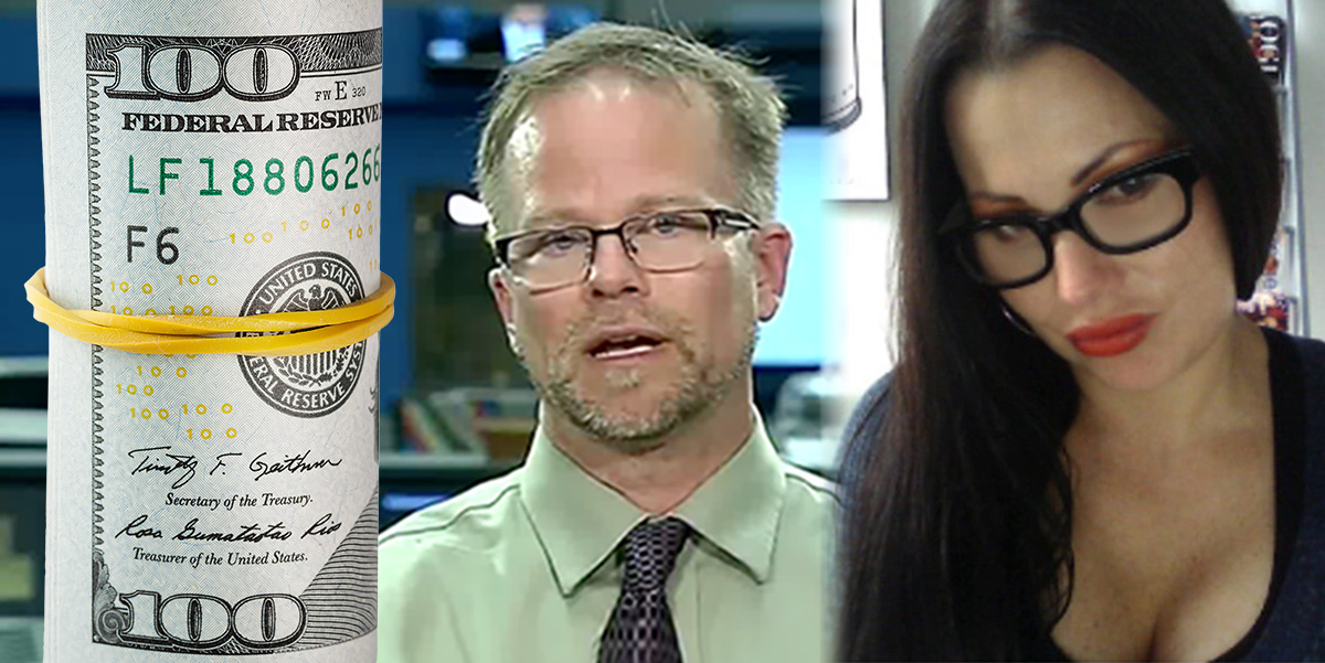 Roundup dollars Kevin Folta and Wife