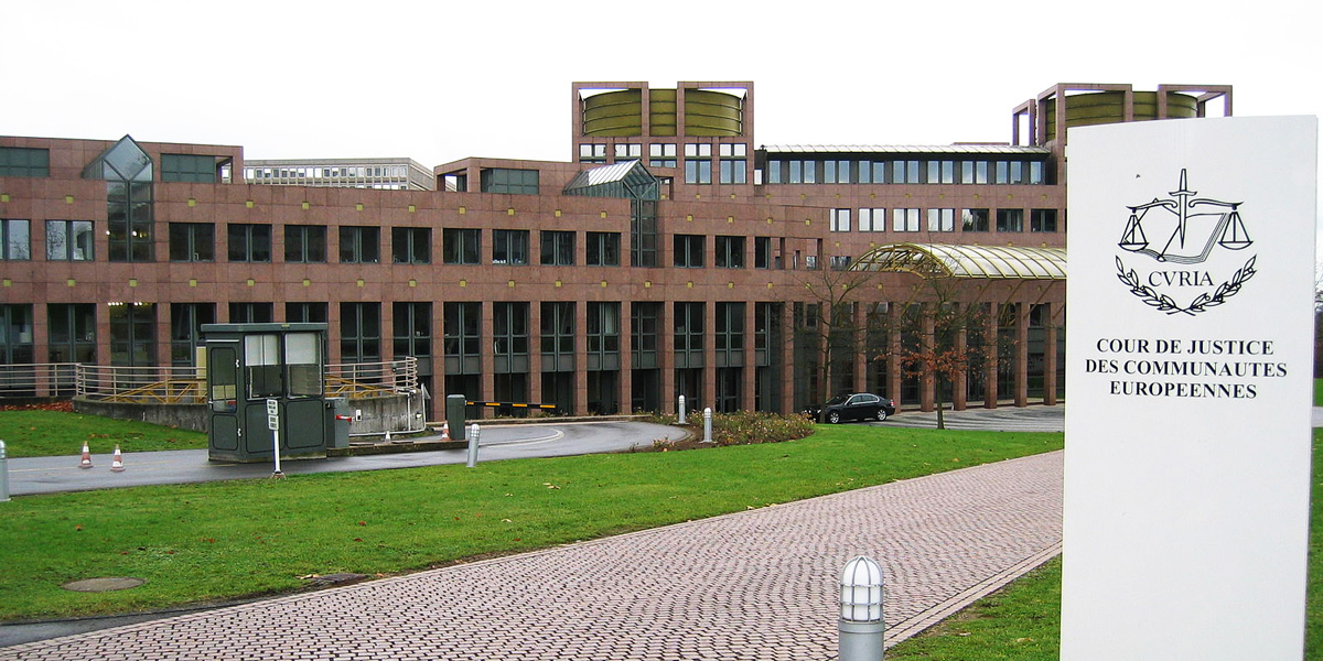 European Court of Justice, Luxembourg
