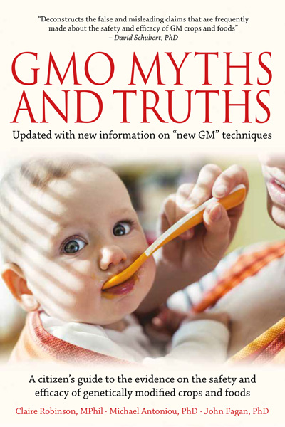 GMO Myths and Truths front cover
