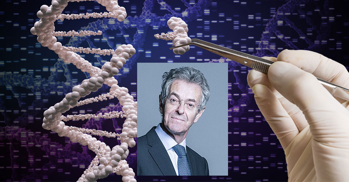 GMO promoter John Krebs and Gene Editing