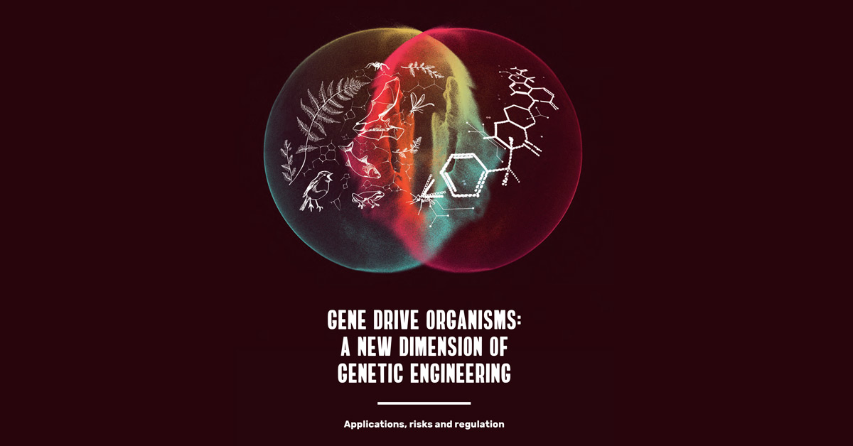 Gene Drive Organisms - A New Dimension of Genetic Engineering banner