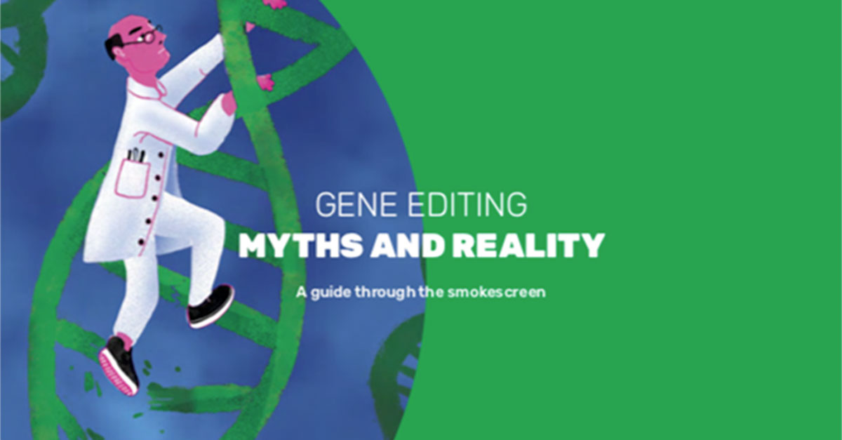 Gene Editing Myths and Reality