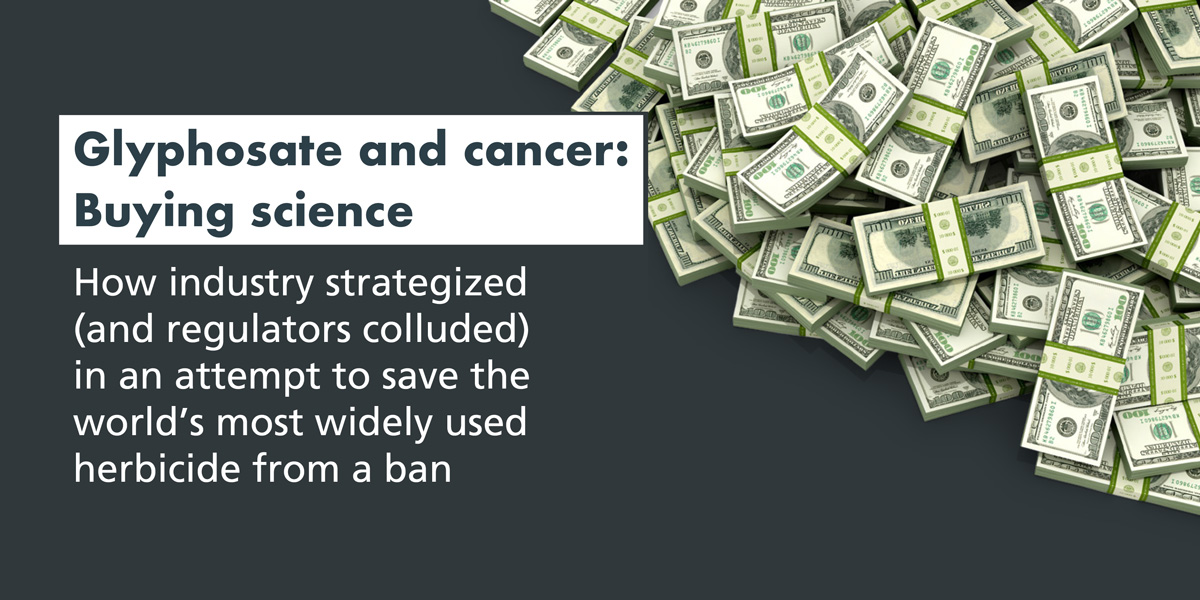Glyphosate and cancer Buying science report