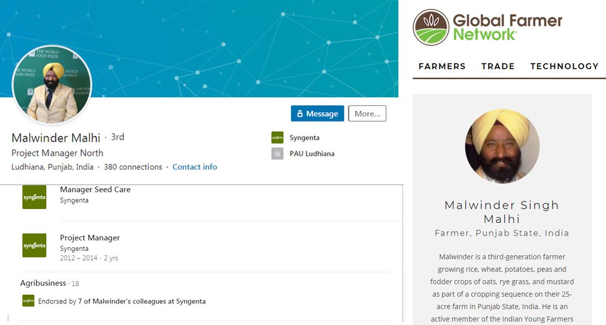 Malwinder LinkedIn Profile