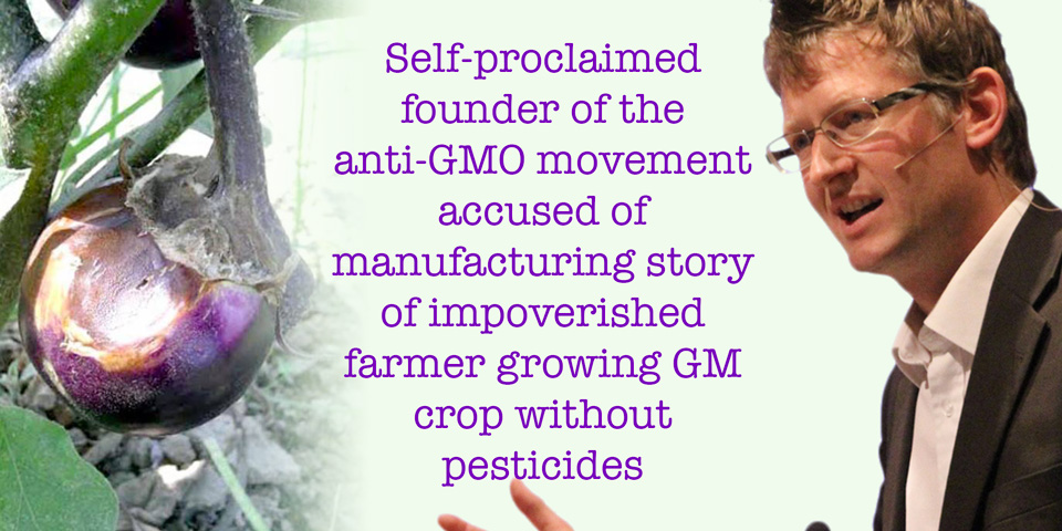 Mark Lynas self-proclaimed founder of anti-GMO movement accused of of manufacturing pro-GMO story