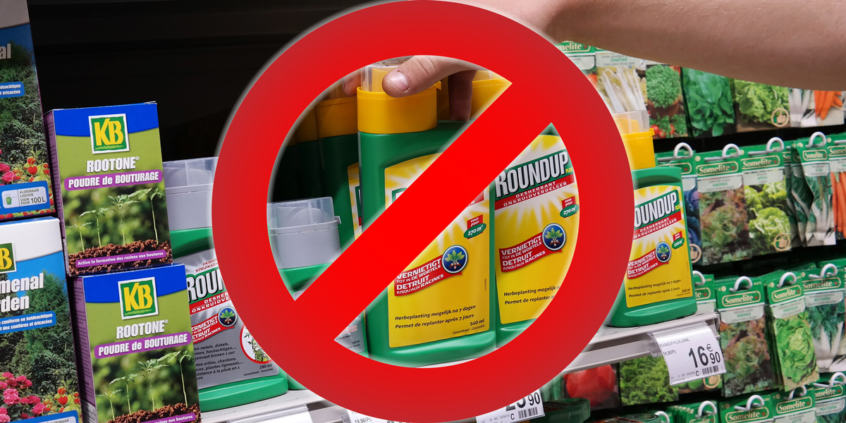 Ban Roundup Glyphosate Pesticides