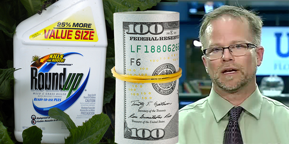 Kevin Folta takes money to promote GMOs