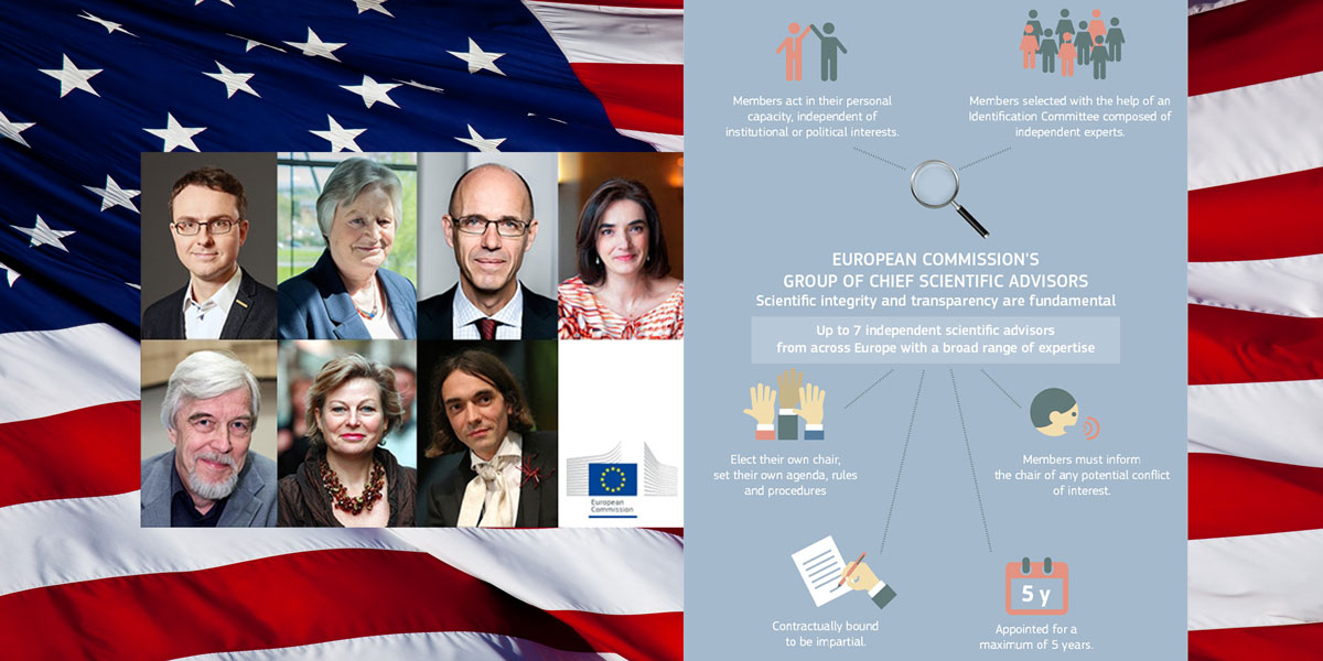 Scientific Advisors plus US flag