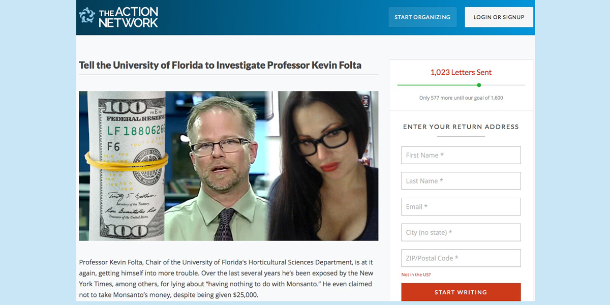 University of Florida should take action on Kevin Folta