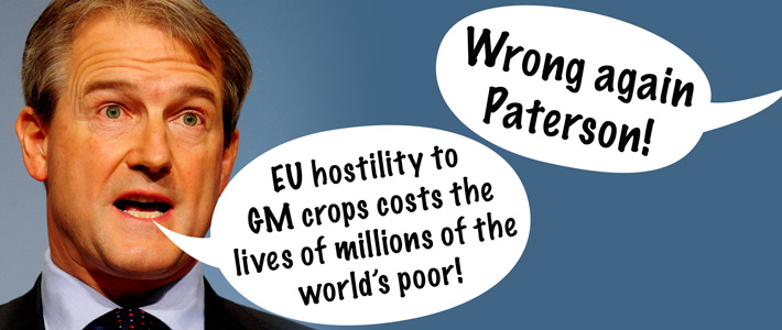 Wrong again Owen Paterson